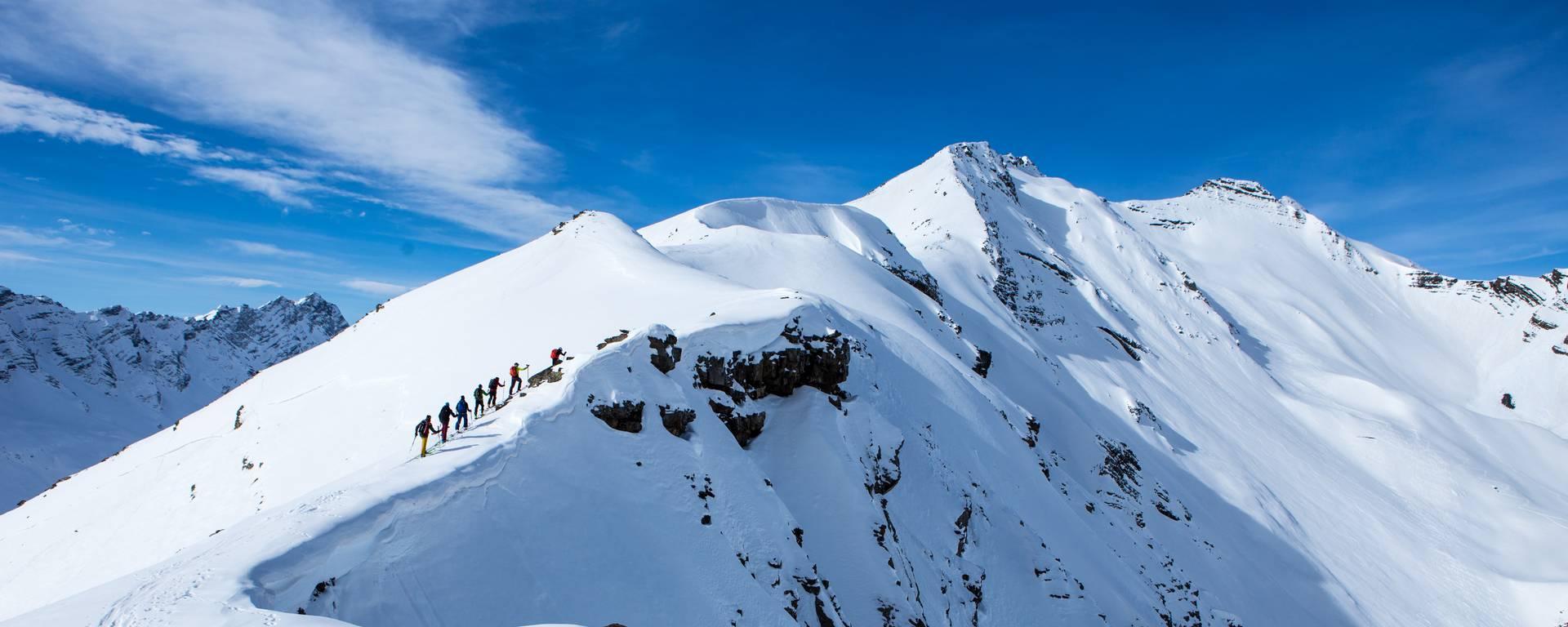 Ski de randonnée au Pays des Écrins