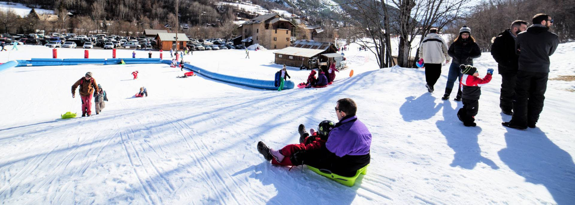 Sledging in Pelvoux