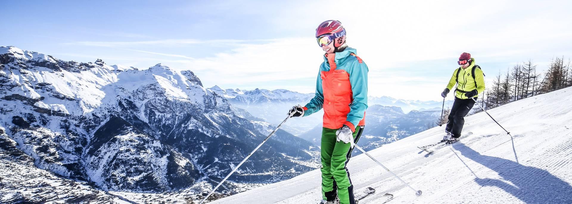 Ski à deux