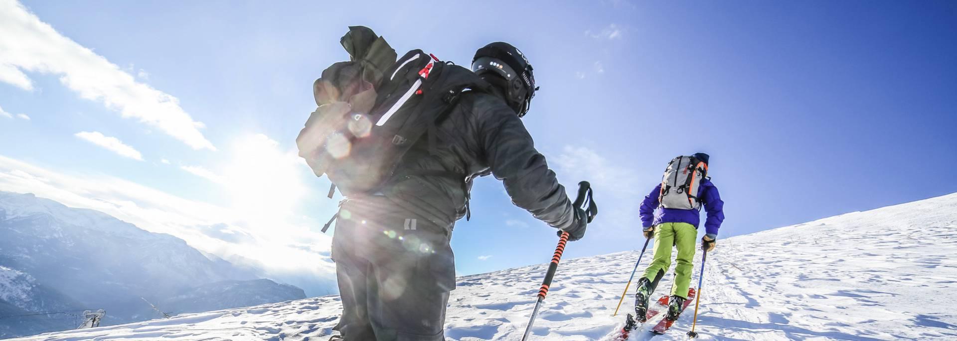 Ski Rando dans les hautes-alpes
