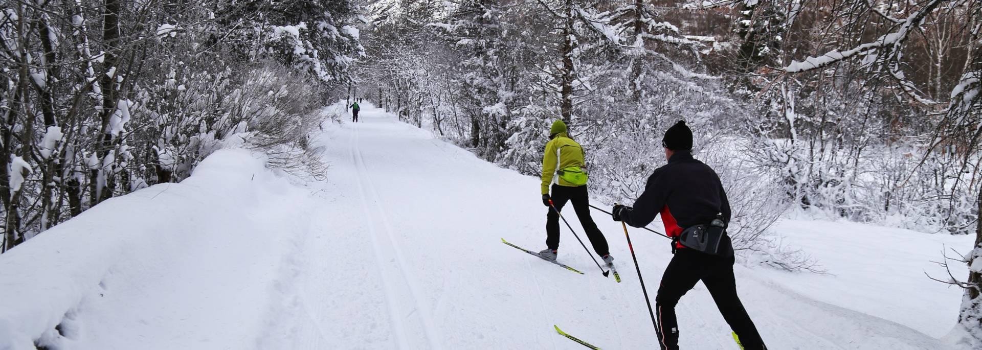 Ski fond Vallouise