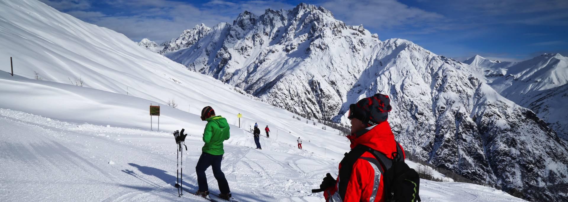 Ski alpin Pelvoux