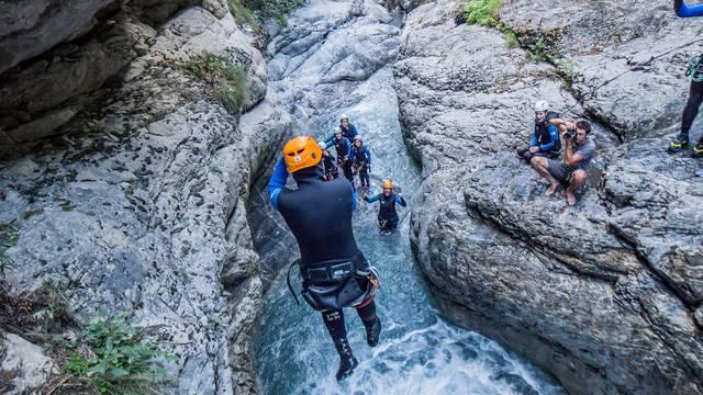 Canyoning Hautes-Alpes