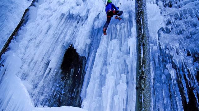 Pelvoux Ice Fall