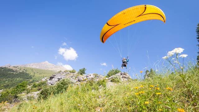 Competition de parapente
