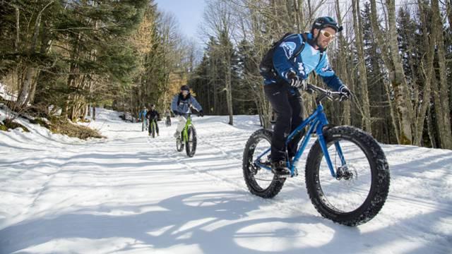 Fat bike neige