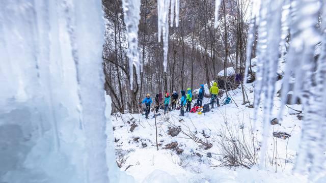 Ice Climbing Écrins, un événement... Glacé !