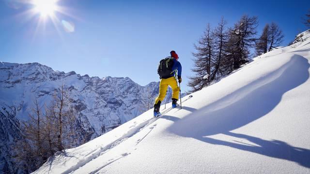 Itinéraire rando ski Pré Rouge à Puy Saint Vincent