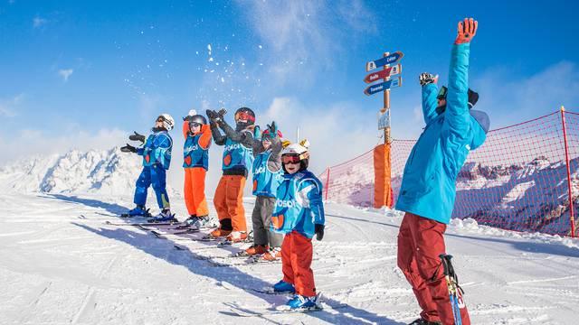 L'École de Ski Internationale et cours collectifs hors-saison