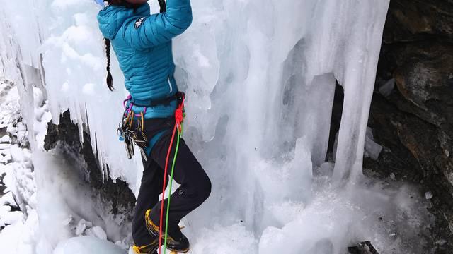 Le week-end dernier, je l'ai passé à l'Ice Climbing