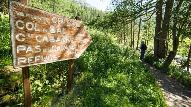 Randonnée dans le Parc national des Écrins