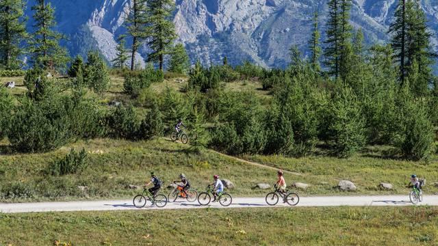 Mountainbiking Puy Saint Vincent