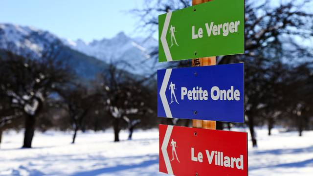 Cross-country skiing in La Vallouise