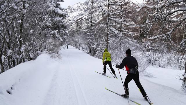 Ski de fond en Vallouise et à Puy Saint Vincent