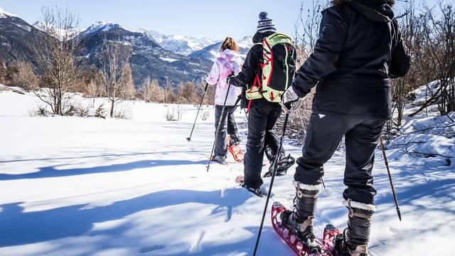 Ski de fond et raquettes en Vallouise