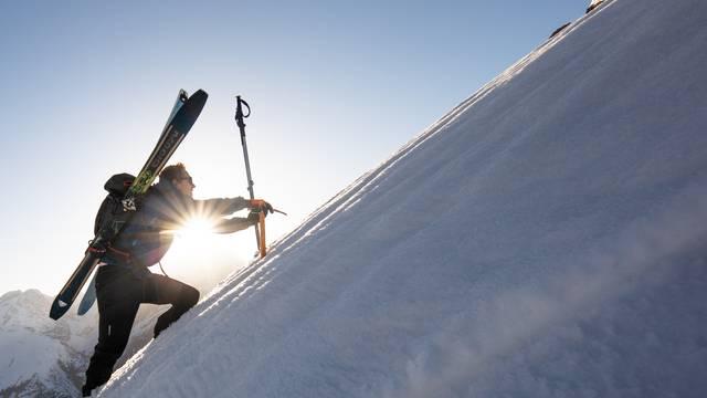 Ski de randonnée au printemps