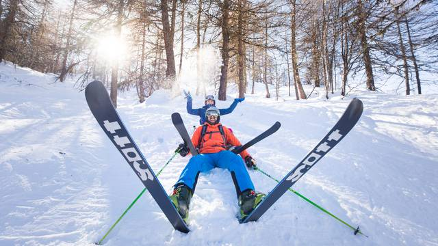 Skiing for Spring