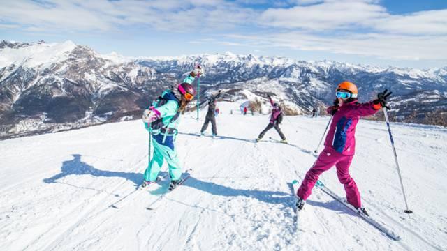 Station de ski Hautes-Alpes