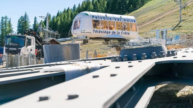 Un nouveau télésiège pour la station de Pelvoux-Vallouise