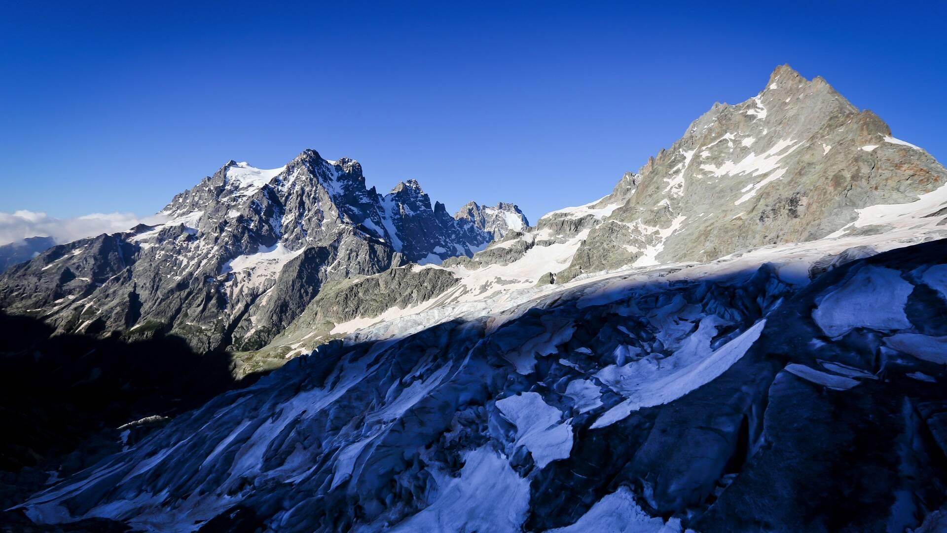 La Barre des Ecrins - Le Glacier Blanc - Vallouise Pelvoux