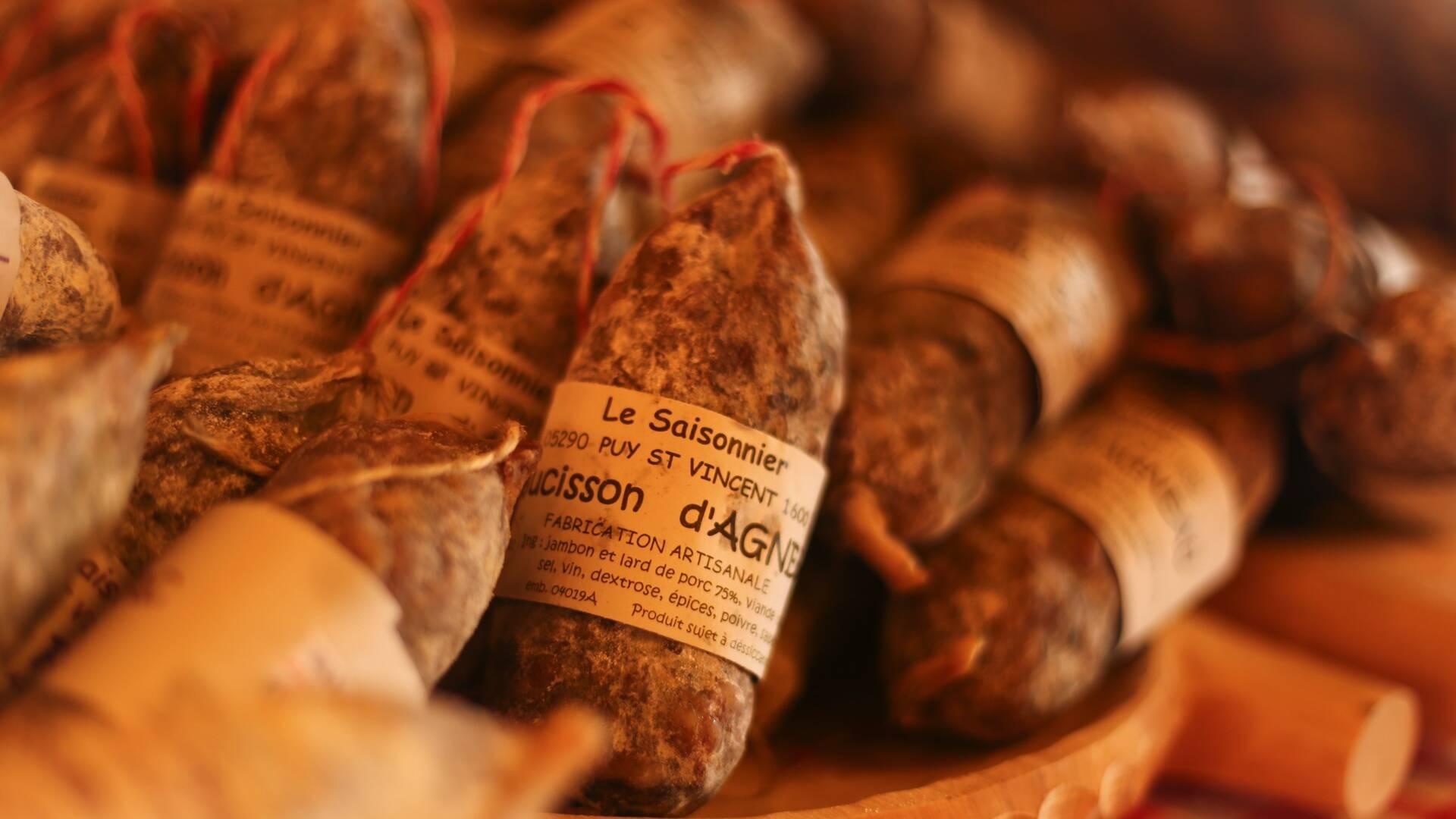 Saucisson - produits locaux