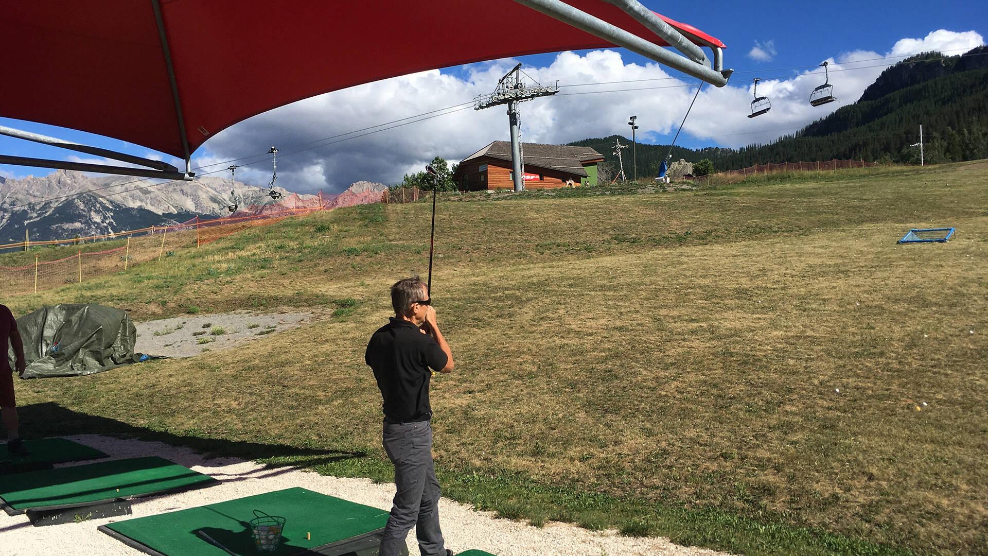 Practice de golf de Puy Saint Vincent