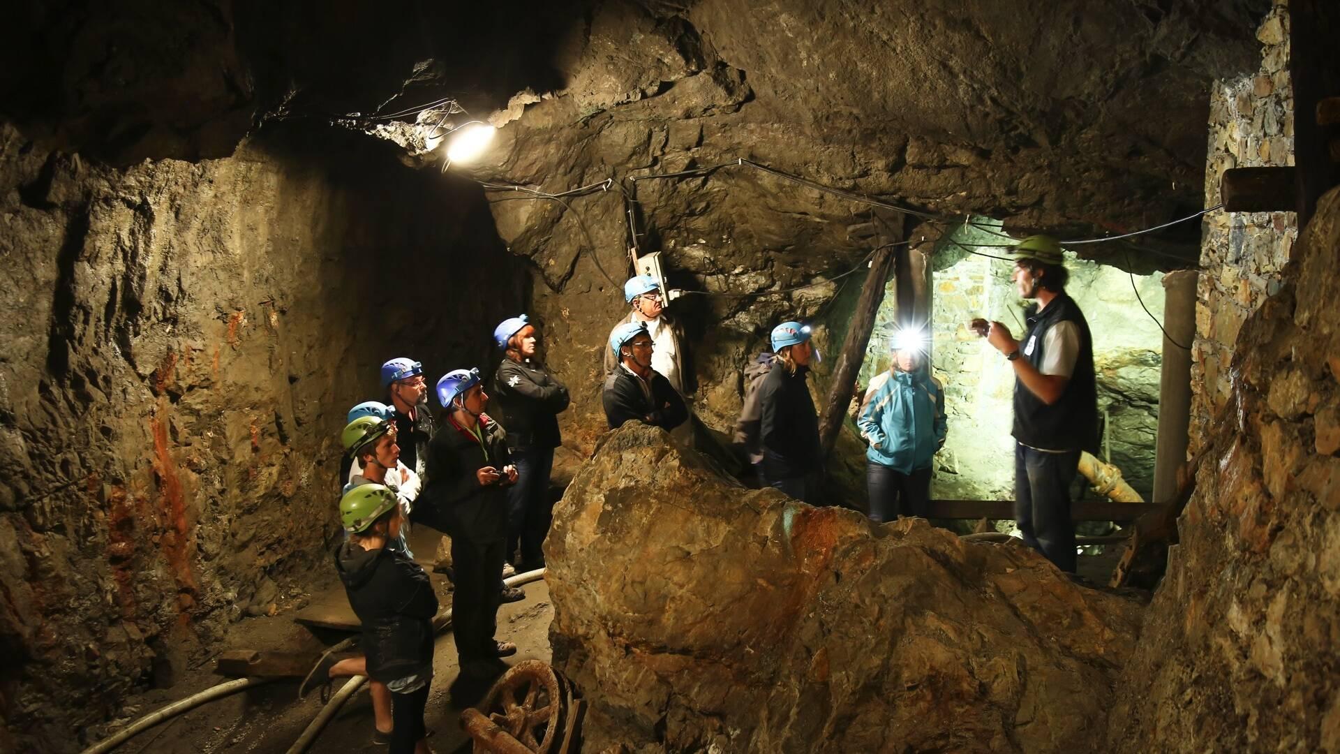 Visite nocturne de la Mine d'Argent