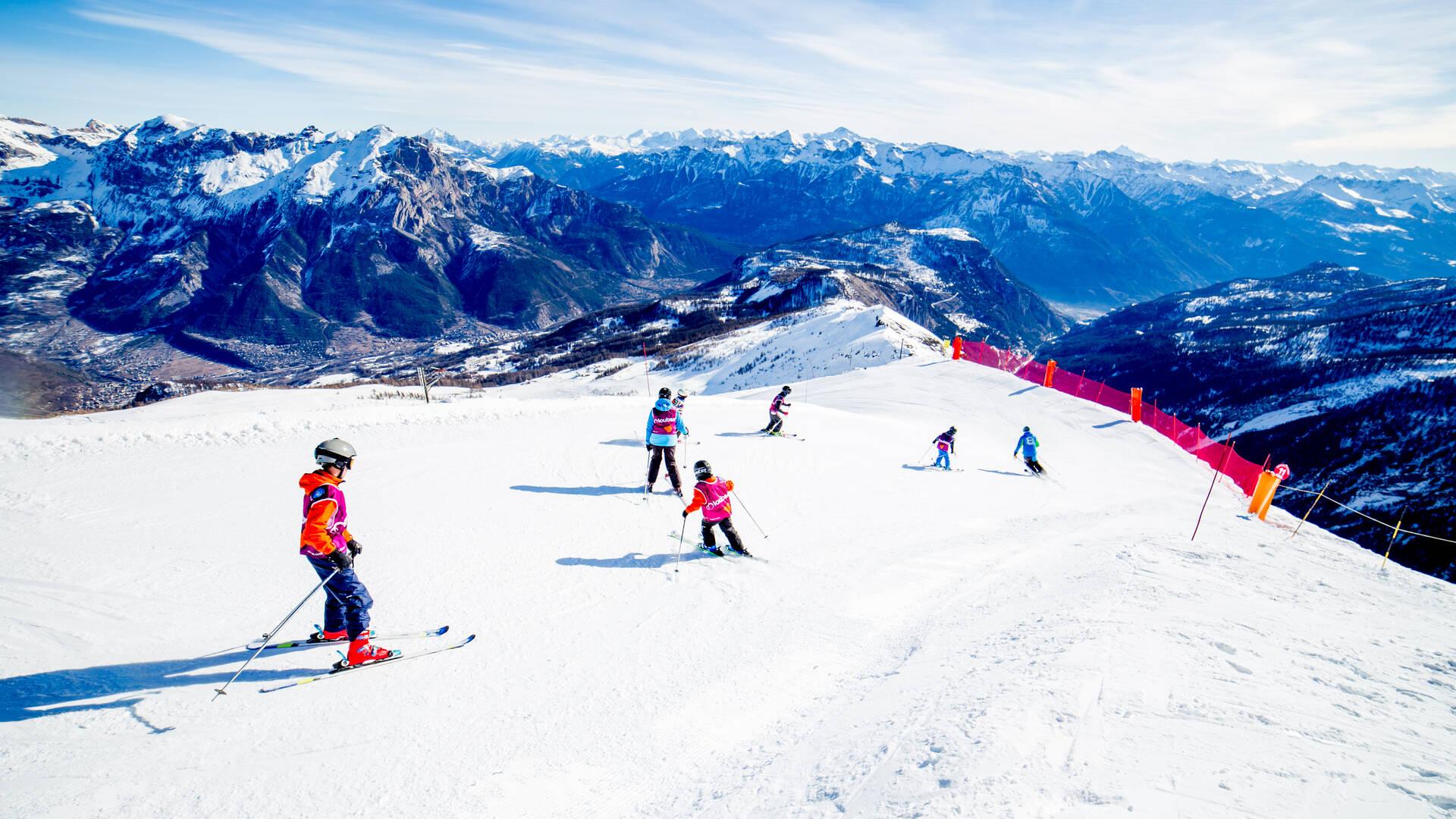 Cours collectifs ski École de ski Internationale Puy Saint Vincent