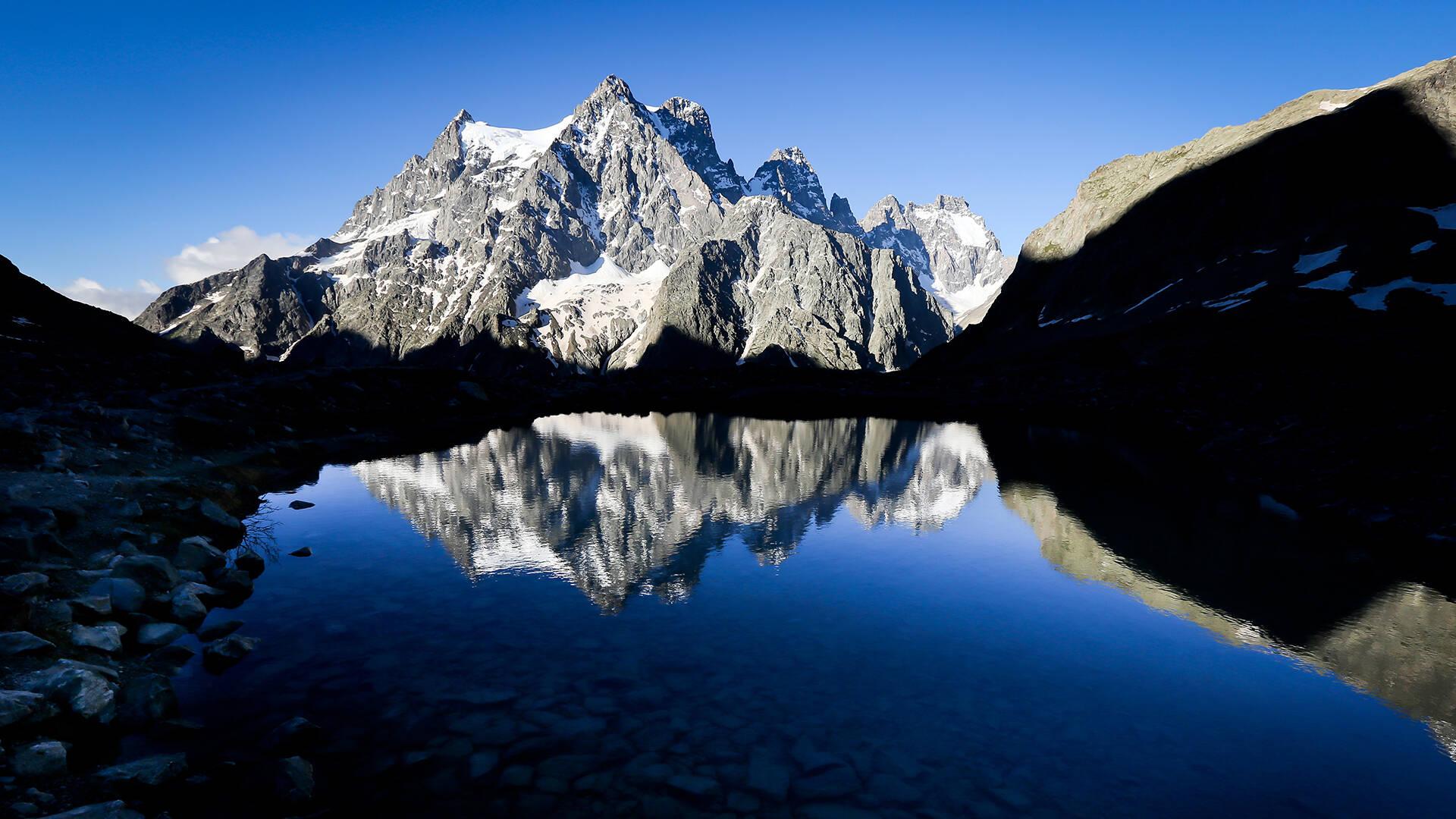 Lac Tuckett Glacier Blanc