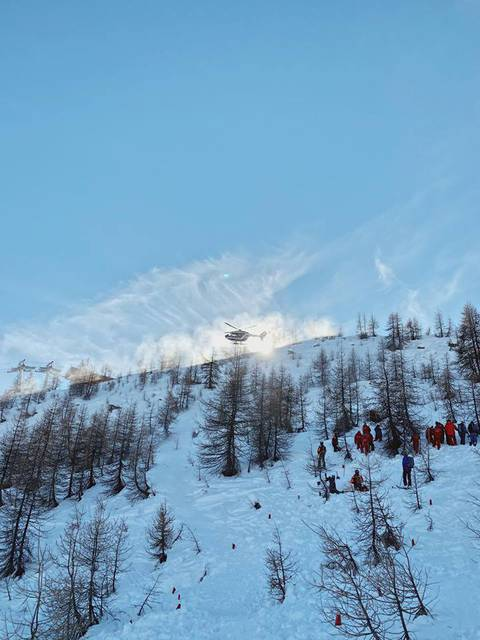 Exercice d'avalanche