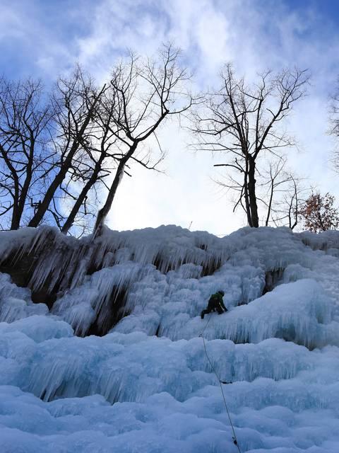 Cascade de glace Pelvoux