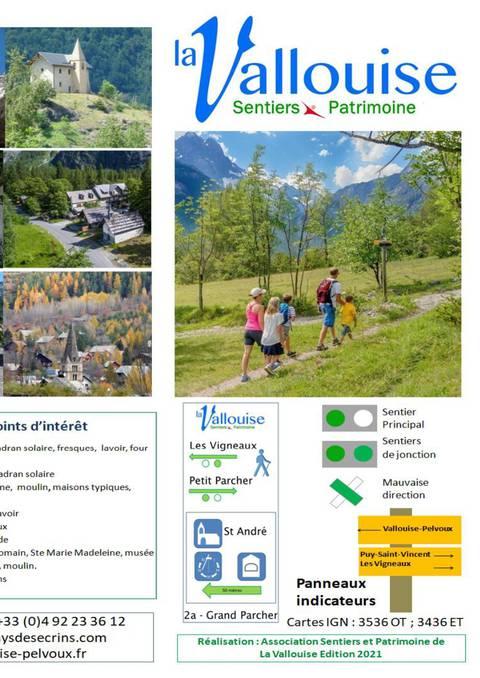 Sentiers Patrimoine - La Vallouise