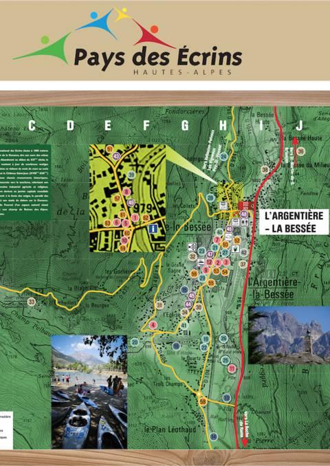 Plan de l'Argentière la Bessée