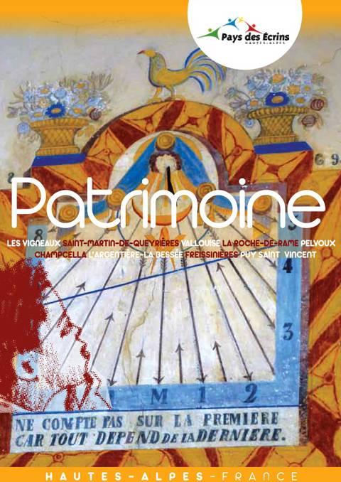 """Brochure thématique """"Patrimoine"""""""