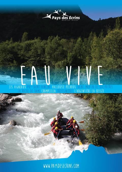 """Brochure thématique """"Eau vive"""" 2019"""