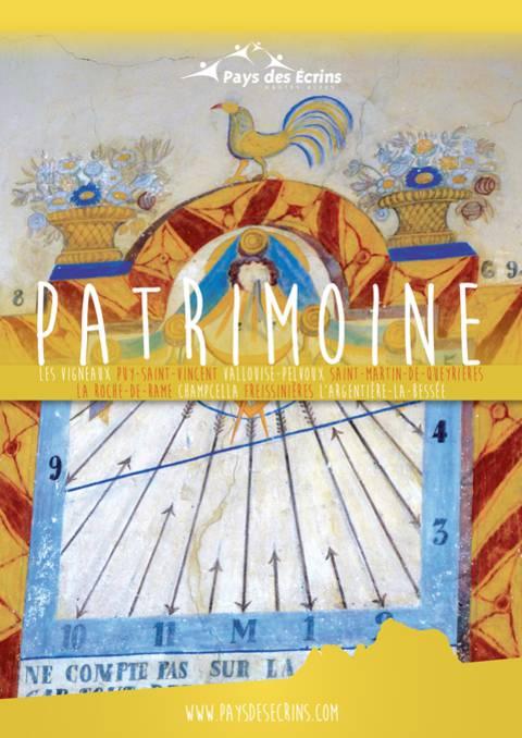 """Brochure thématique """"Patrimoine"""" 2019"""