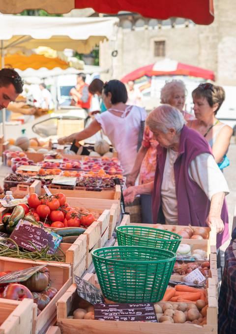 Navette marché du jeudi depuis La Roche de Rame et Saint Martin de Queyrières