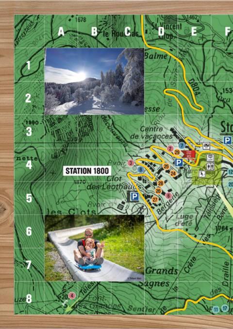 Plan de Puy Saint Vincent 1600