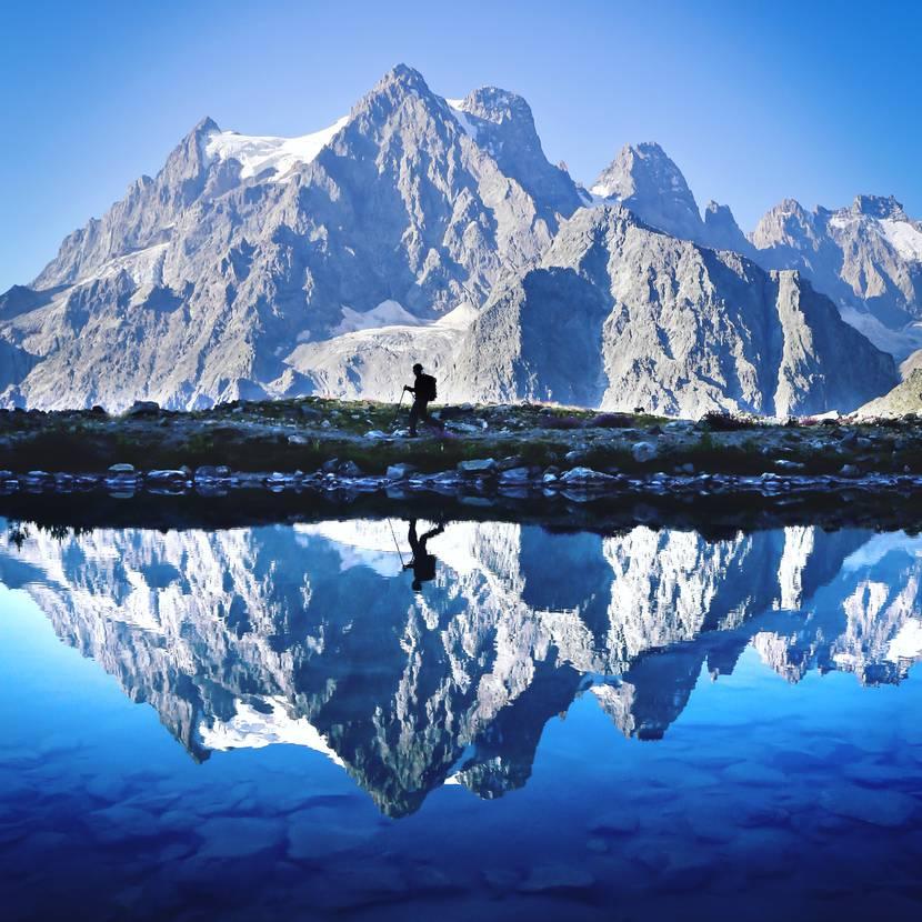 Le Lac Tuckett - Glacier Blanc - Pelvoux