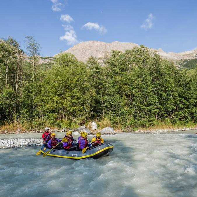 Rafting au Pays des Ecrins