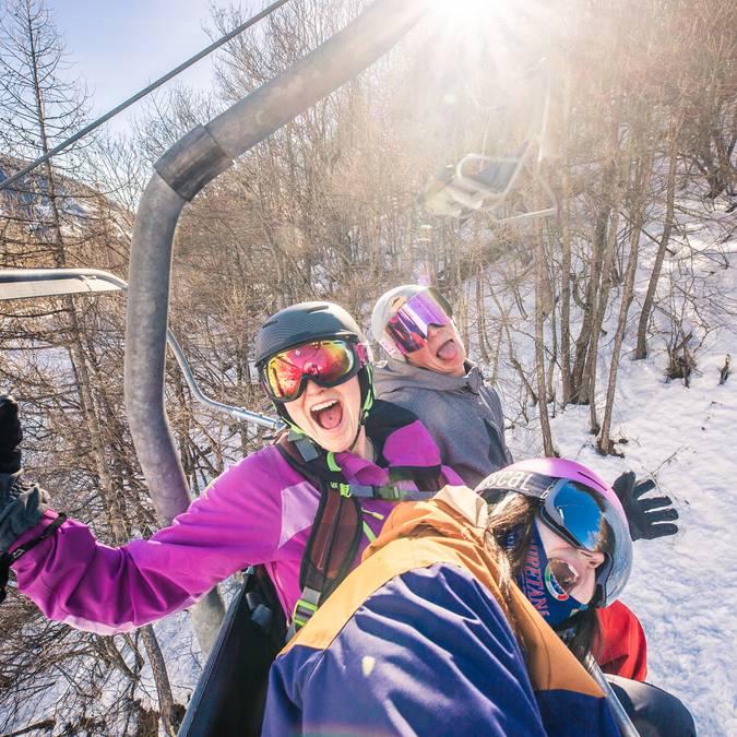 Ski entre amis !