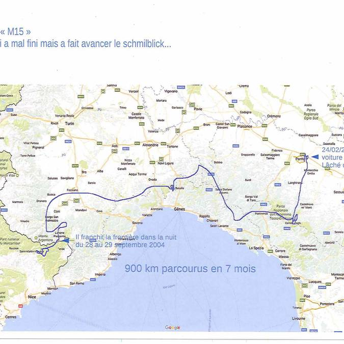 900 km en 7 mois