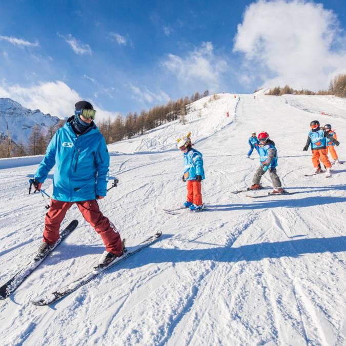 Cours Collectifs Ski et Snowboard Puy Saint Vincent