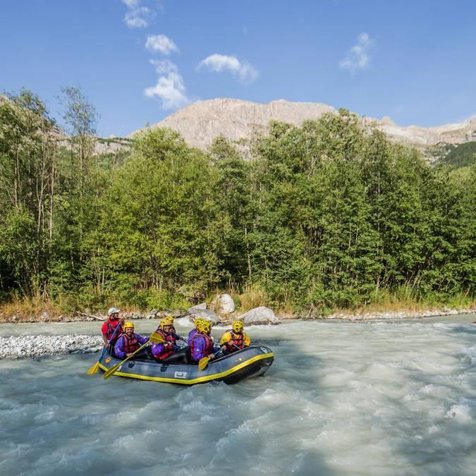 Rafting im Pays des Écrins
