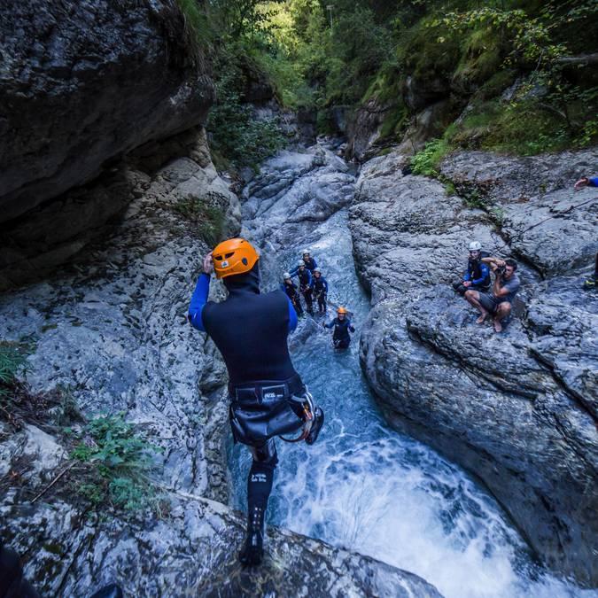 Canyoning au Pays des Ecrins