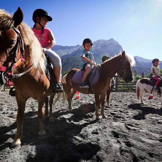 Equitation au Pays des Ecrins