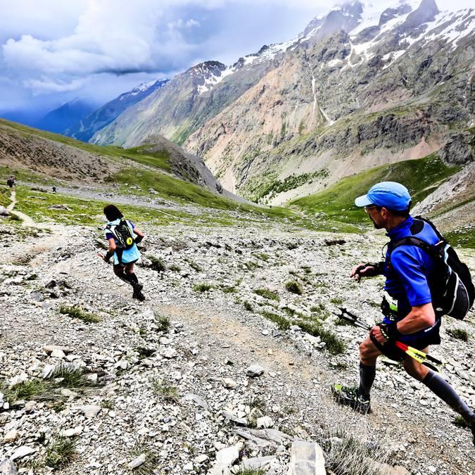 Trail au Pays des ecrins